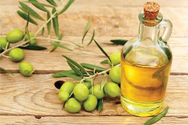 Mặt nạ cho da khô nhăn dầu oliu