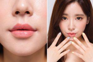 Massage môi