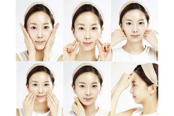 Các huyệt thường bấm trên khuôn mặt