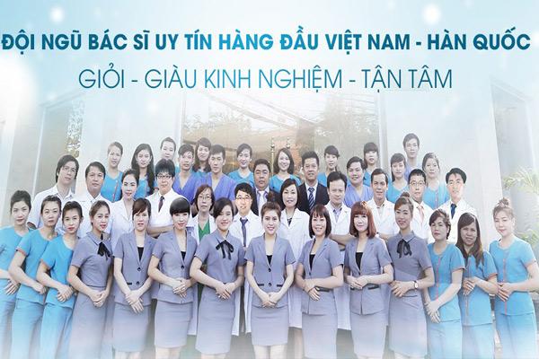 Đội ngũ y bác sỹ nhiệt tình