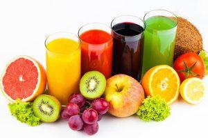 Da căng bóng nhờ nước ép hoa quả
