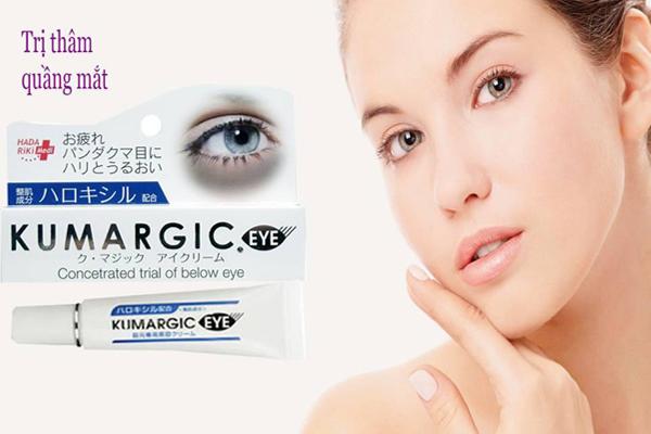 Tác dụng kem trị thâm kumargic eye cream