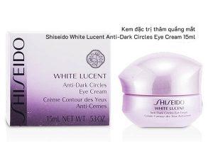 Kem trị thâm quầng mắt shiseido
