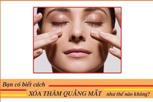 Thuốc trị thâm quầng mắt lâu năm nào hiệu quả?